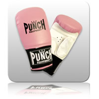Punch Prolux Mitts - Medium - Pink